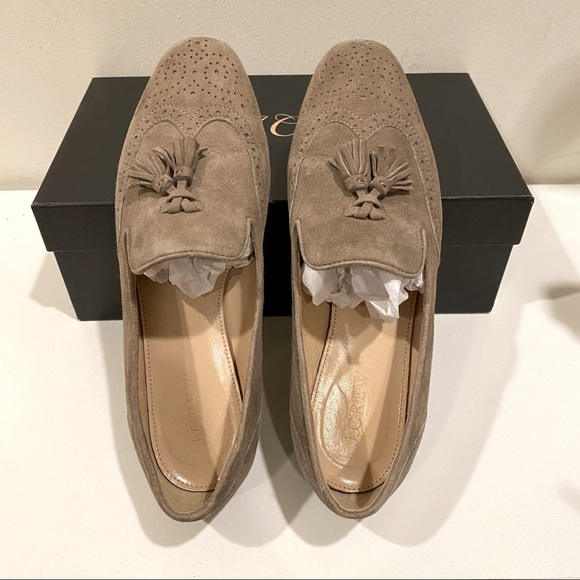 J.Crew Suede Loafers Sz 7